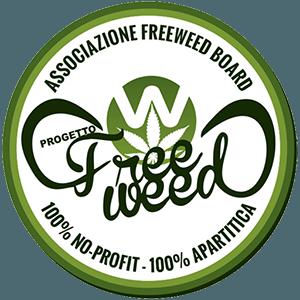 FreeWeed Logo Ufficiale Associazione Sponsor M5G movimento 5 grammi